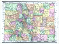 Colorado, World Atlas 1913
